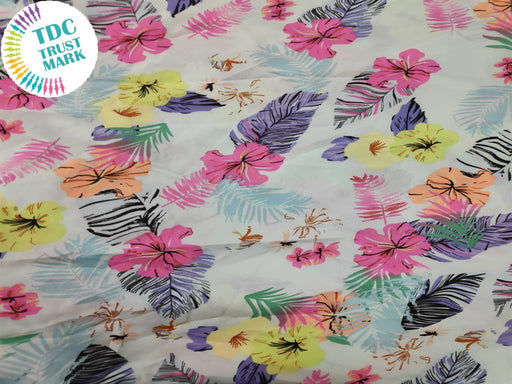 MultiColour Floral Polymos Fabric (200 Meters)