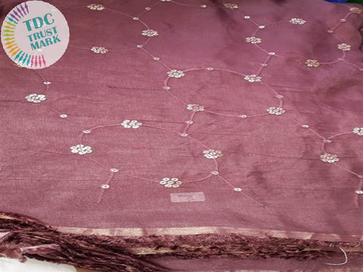 Pink Chiffon Crepe Fabric (6 Meters)