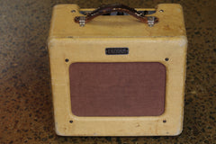 "1951 Fender ""Tweed"" Princeton Amplifier. ""TV Front"""