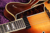 John Liddy Carved Archtop. Sunburst