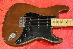 "1979 Fender ""Mocha"" Stratocaster. ""Hardtail"" with Maple Neck # S901229"