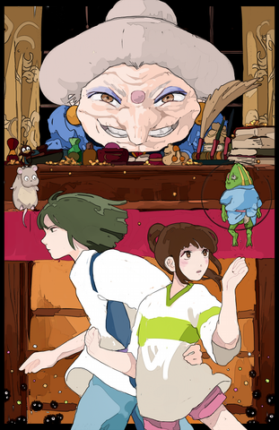 Spirited Away (Yubaba)