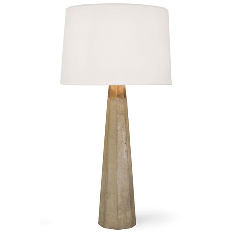 Gilt & Gris Table Lamp