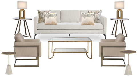 Utopia Living Room - Beige