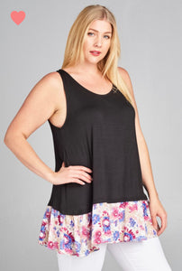 Kennedy Sleeveless Top - QUEEN SIZES