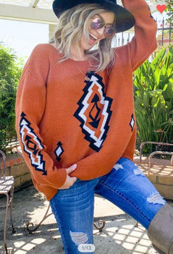 Aztec Sweater (more options)