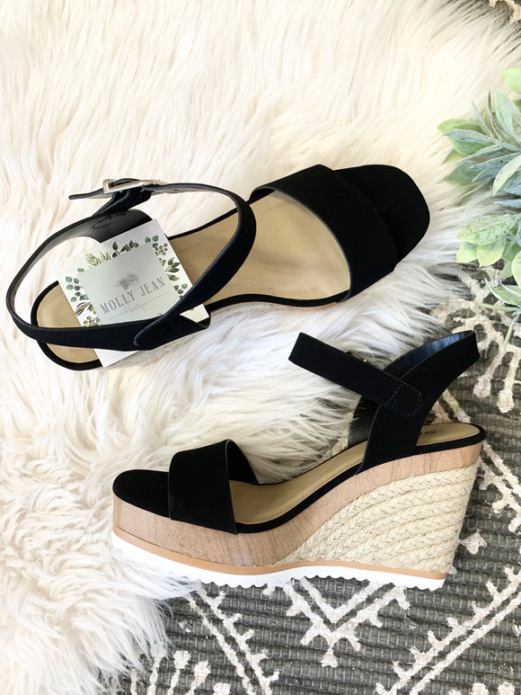 Tiffani Wedge Sandals