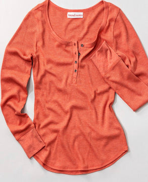 Henley Thermal Top