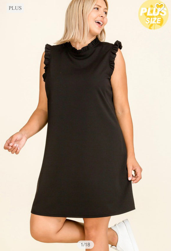 Prime Sleeveless Dress - QUEEN SIZES (more options)