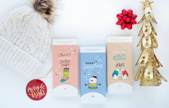 Holiday Chocolate Cards (more options)