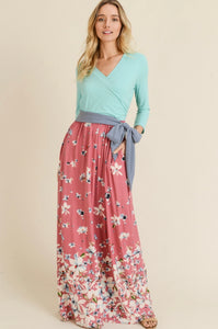 Cary Floral Maxi Dress