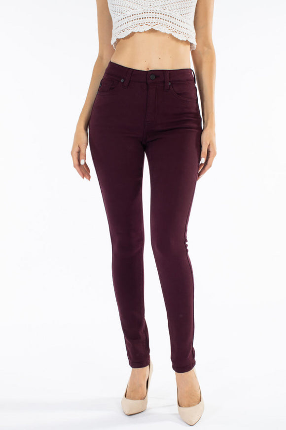 Burgundy Skinny Kancans (Queen Sizes, also!)