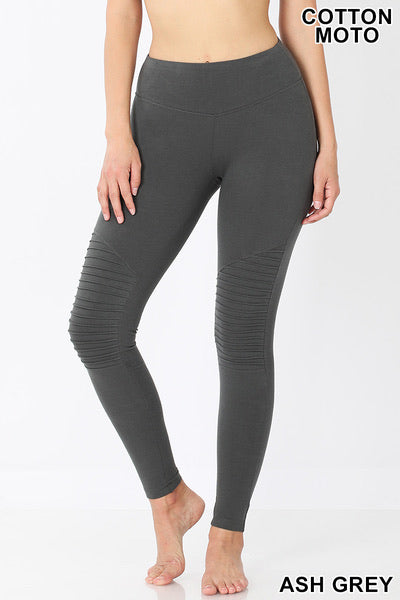 Cotton Moto Leggings (more options)