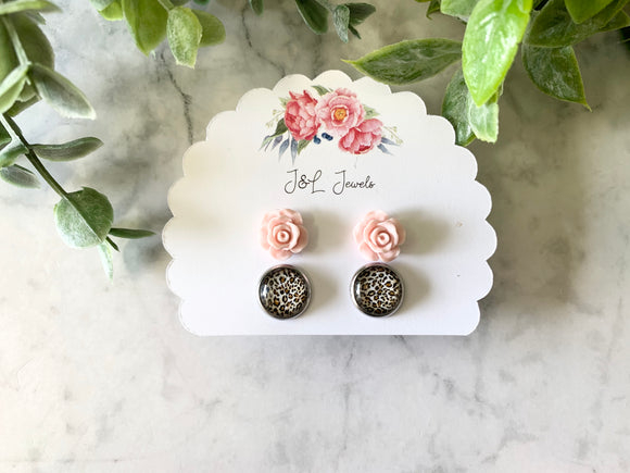 Champagne Nights Earring Set