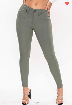 Hyperstretch Mid-Rise Skinnies (more options)
