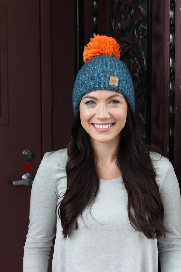 Knitted Pom Hat (more options)