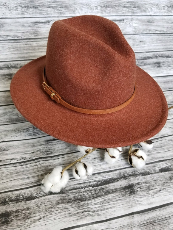 Fall Wide Brim Hat (more options)