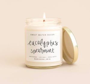 Eucalyptus + Spearmint Candle
