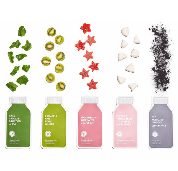 Raw Juice Cleanse Masks - SINGLES
