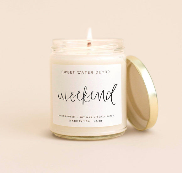 Weekend Candle