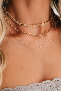 Sophia Layered Chain Necklace