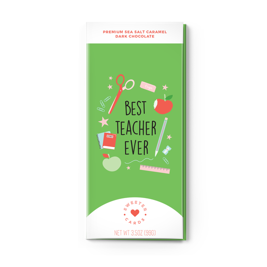 Teacher Appreciation Chocolate Card