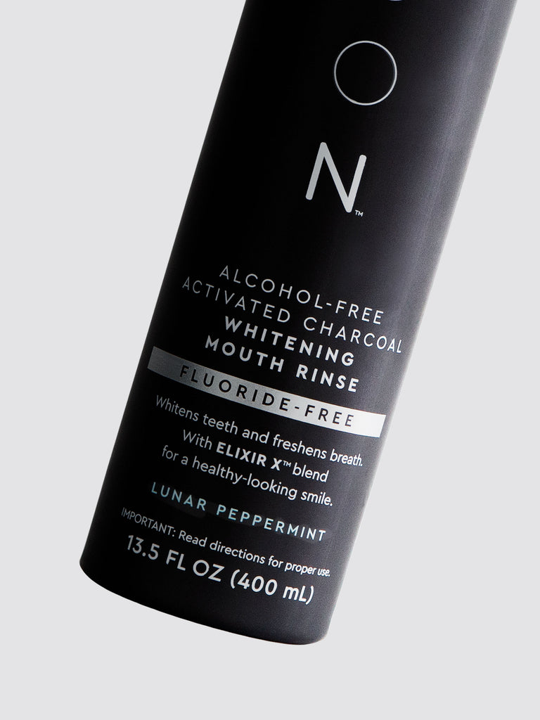 Activated Charcoal Whitening Mouth Wash Moon Oral Care