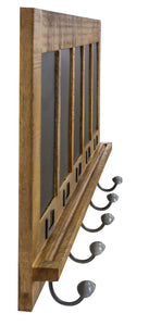 Blackboard 5 Hook Coat Hanger