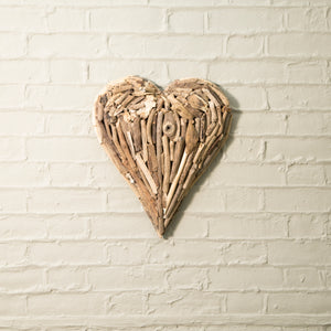Driftwood Heart - 2 sizes available
