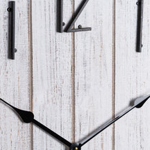 Load image into Gallery viewer, Rustic Retro Plank Design Wall Clock