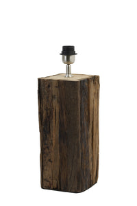Rodeo Wood Table Lamp Base