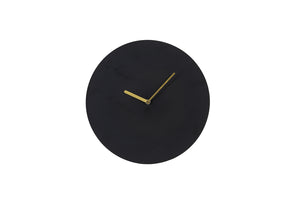 Waiwo Clock Matt Black Small