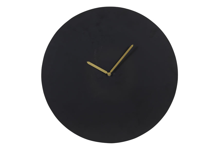 Waiwo Clock Matt Black Large