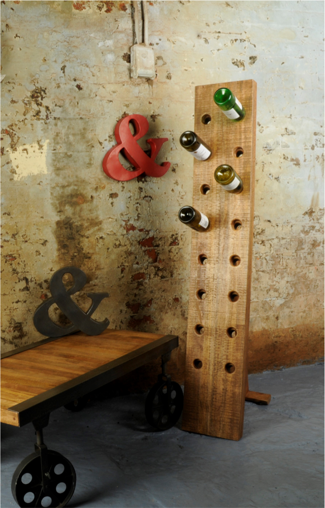Floor Standing 16 Bottle Wine Rack