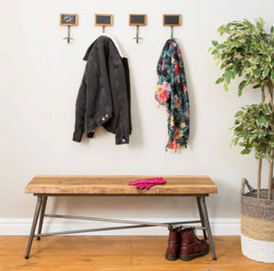 Single Blackboard Coat Hanger