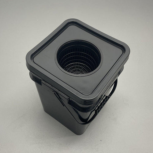 Hydroponic DWC 5 Gallon Square Bucket