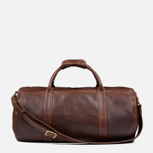 THE GORDON DUFFLE IN COCOA