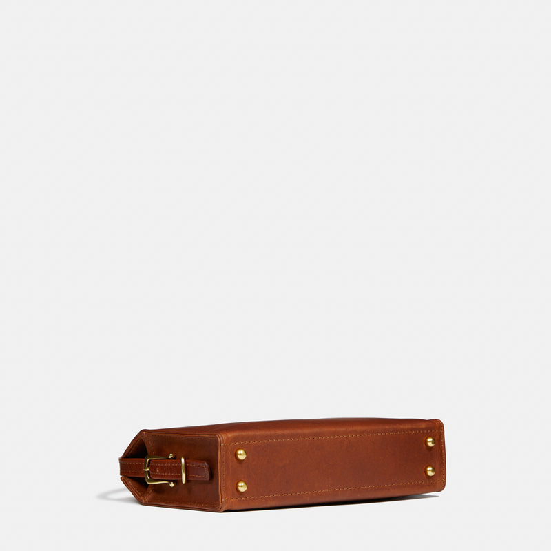 Hazelnut / With Leather Strap