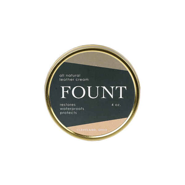 FOUNT Leather Cream
