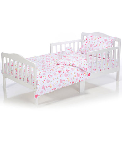 Toddler Bedding Set Tea Party
