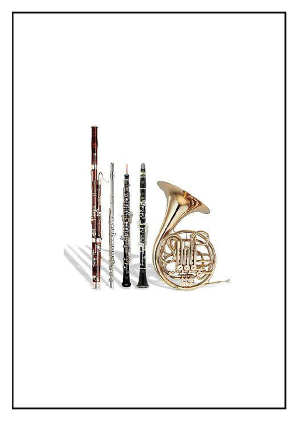 Christmas Wind Quintet Sheet Music