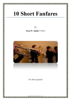 Smith - 10 Short Fanfares - Brass Quintet