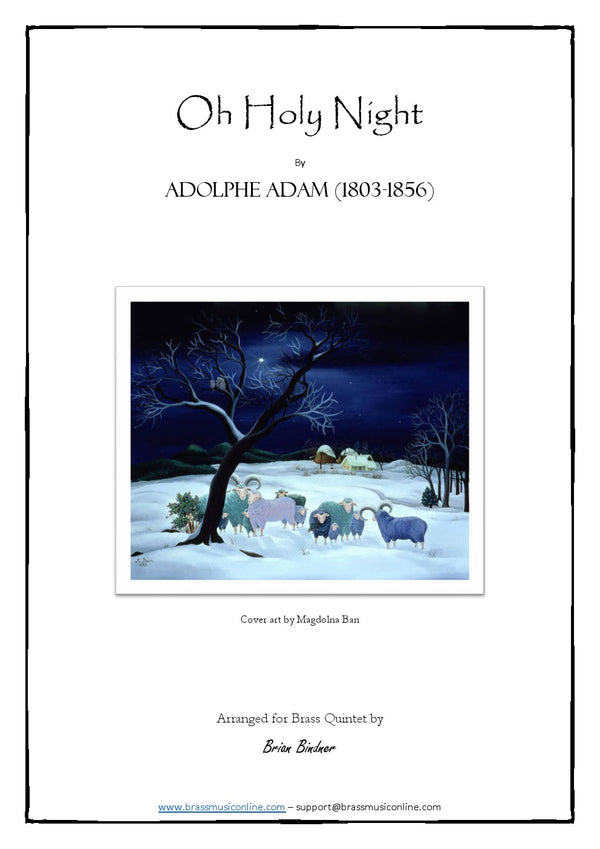 Adam - Oh Holy Night - Brass Quintet