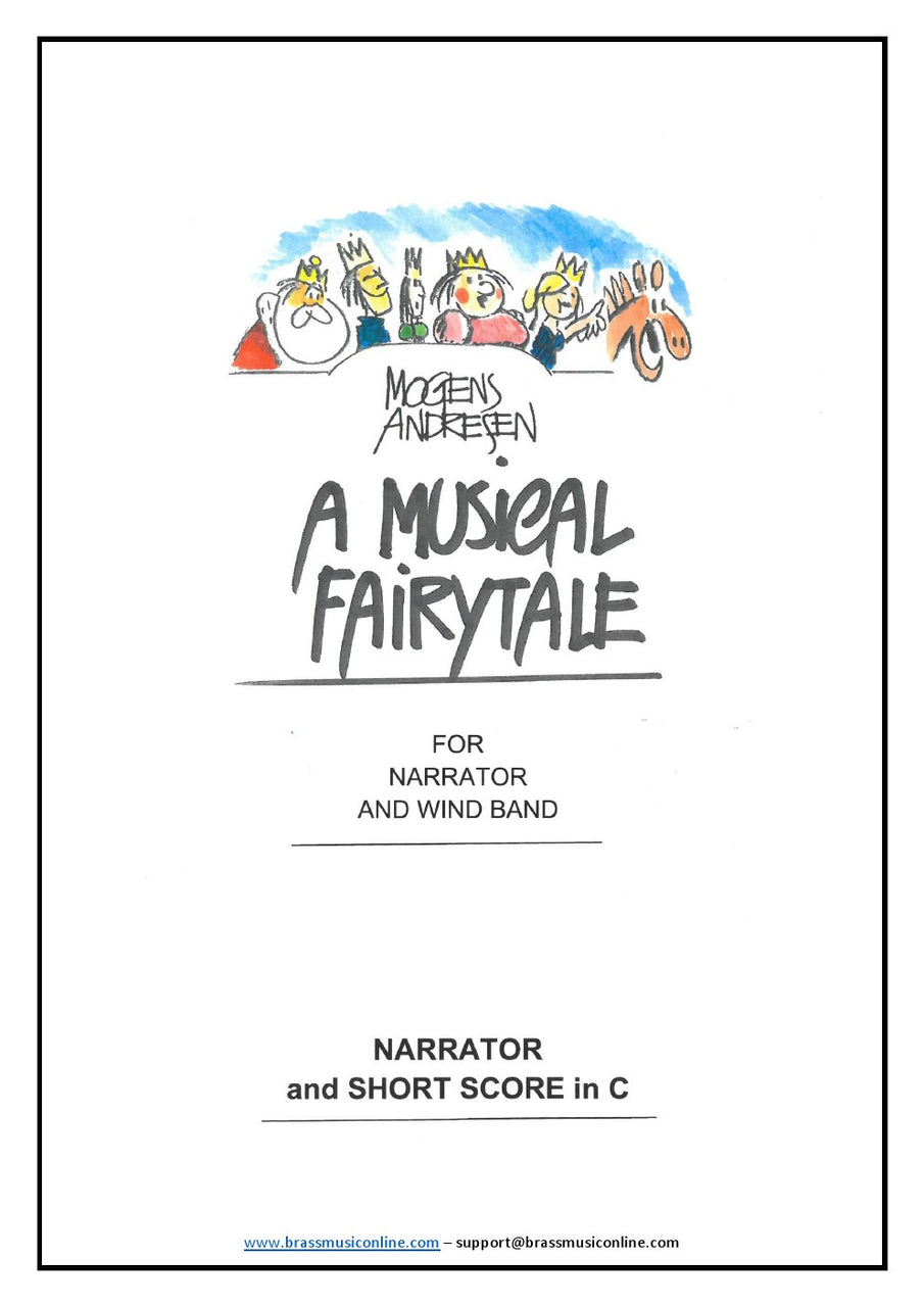 Andresen - A Musical Fairytale - Concert Band and Narrator