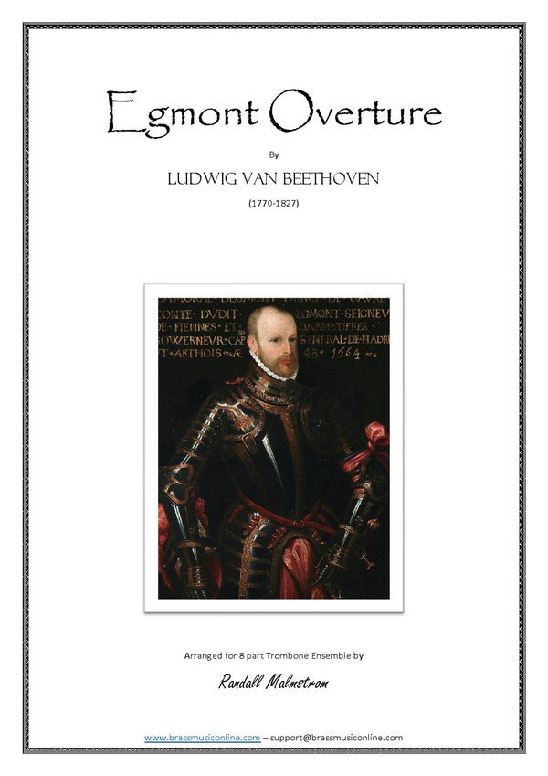 Beethoven - Egmont Overture - 8 part Trombone Ensemble