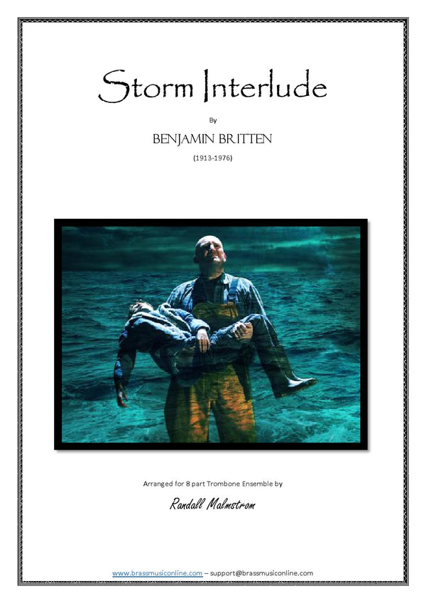 Britten - Storm Interlude for Trombone Ensemble