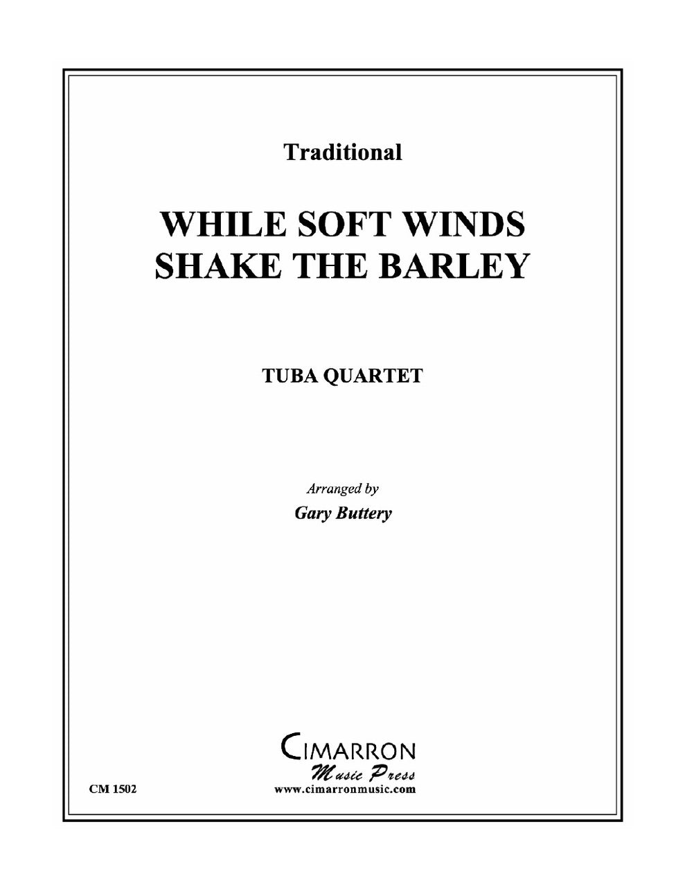 Buttery - While Soft Winds Shake The Barley - Tuba Quartet