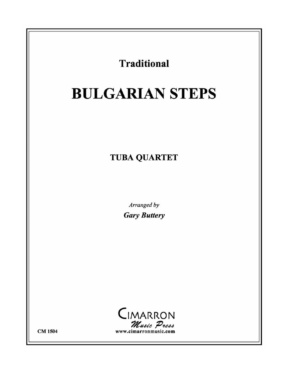 Buttery - Bulgarian Steps - Tuba Quartet