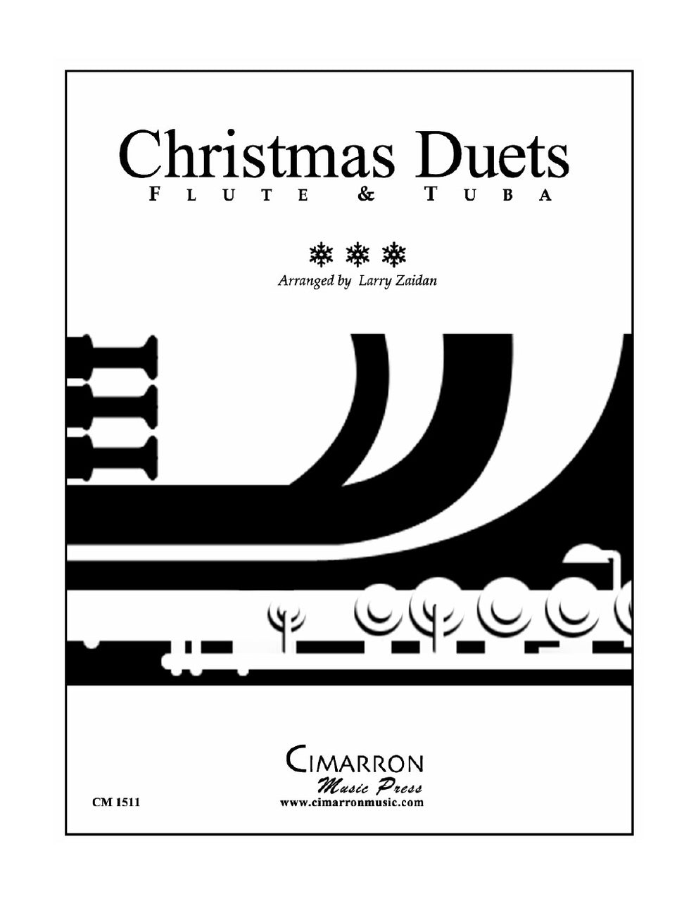 Christmas Duets - Flute and Tuba