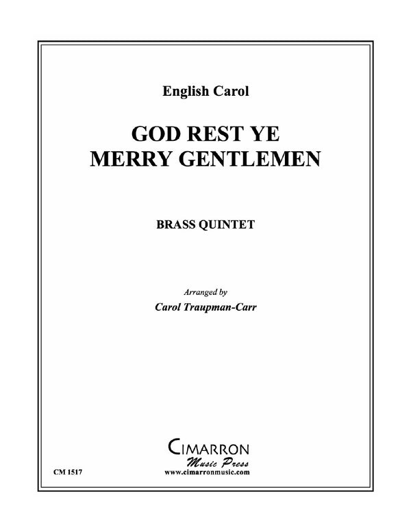 God Rest Ye Merry Gentlemen - Brass Quintet